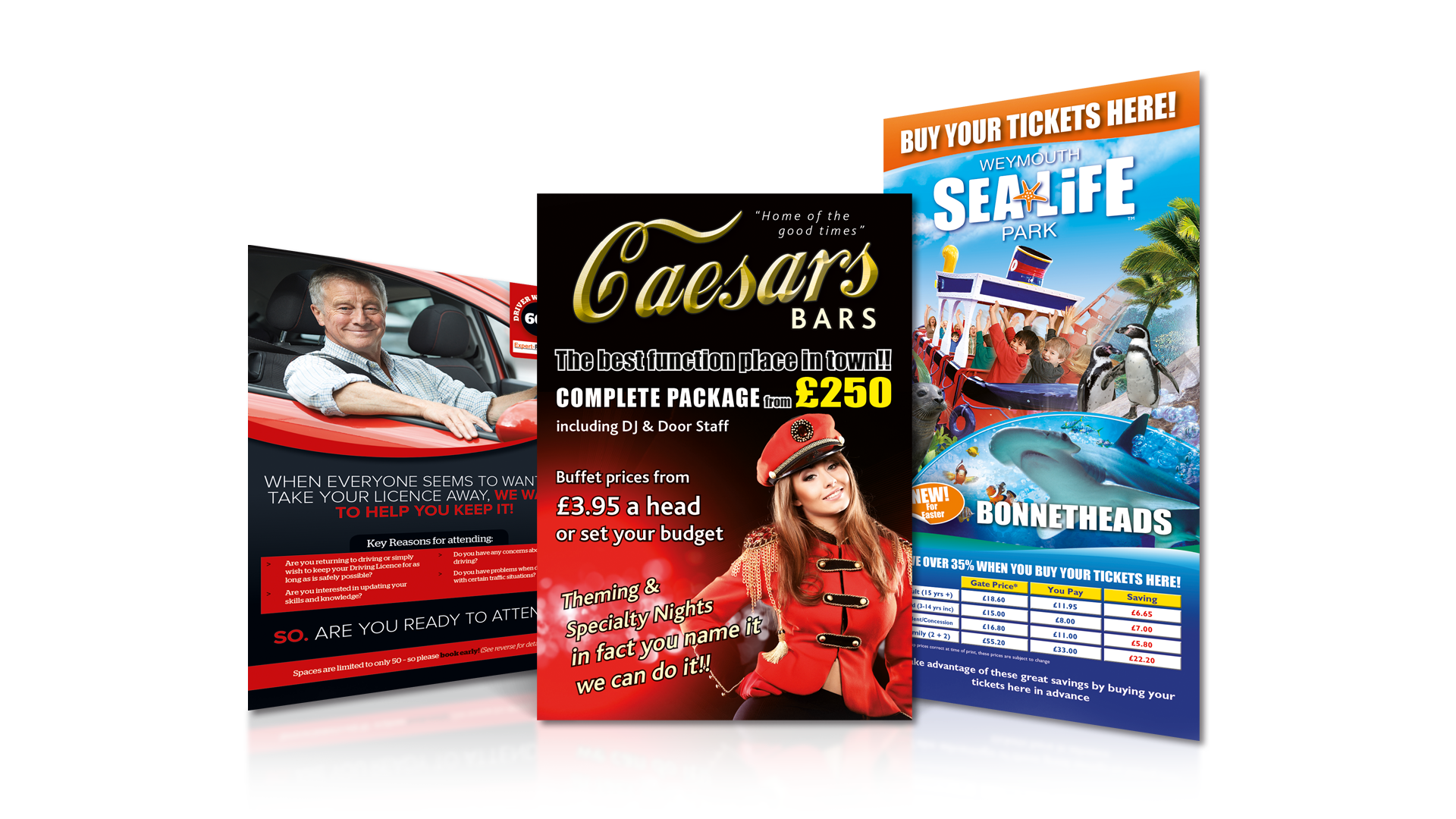 Word Perfect Print | Commercial Printing - Flyers and Leaflets