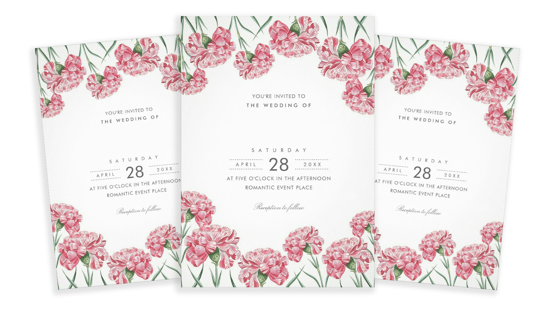 Word Perfect Print | Commercial Printing - Event Invites