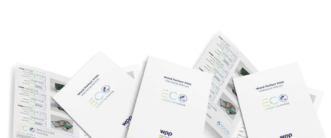 Word Perfect Print Streamline Services Brochure Range Print Examples