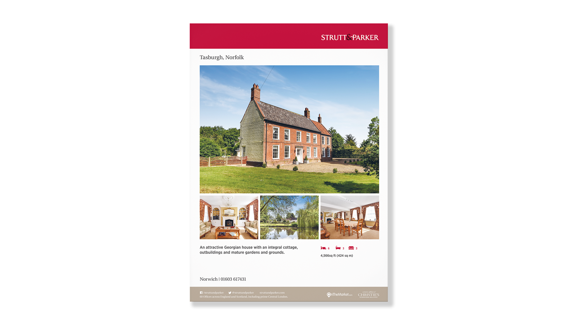 Word Perfect Print | Property Marketing - Window Cards / Posters